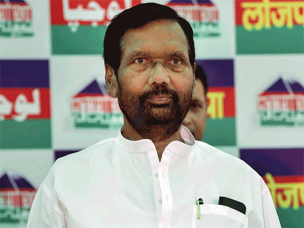 Lok Janshakti Party (LJP) chief Ram Vilas Paswan
