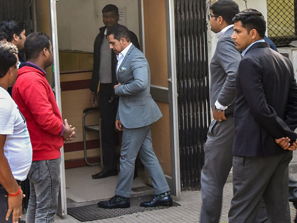 Robert Vadra appears before ED in land grab case