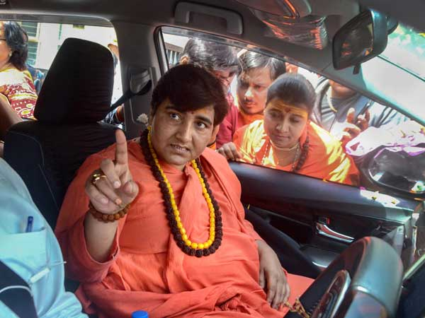 Nathuramm Godse a deskbhakt: BJP asks Sadhvi Pragya to apologise for her remark