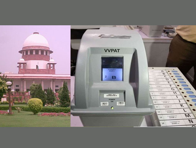 No 50 per cent VVPAT matching says Supreme Court