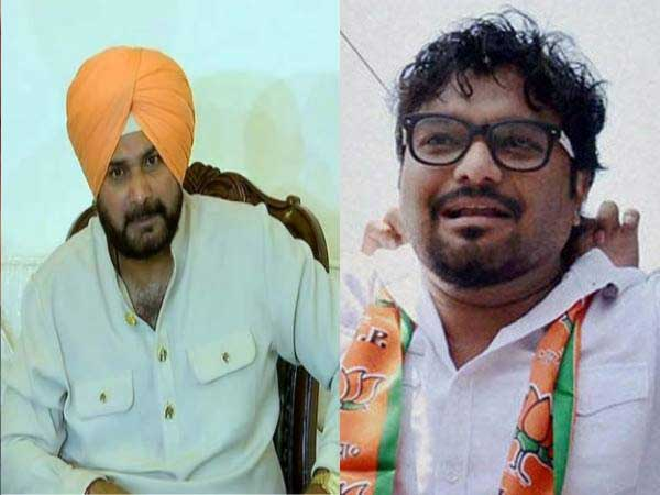Will you live up to your words and quit politics: Babul Supriyo asks Navjot Sidhu