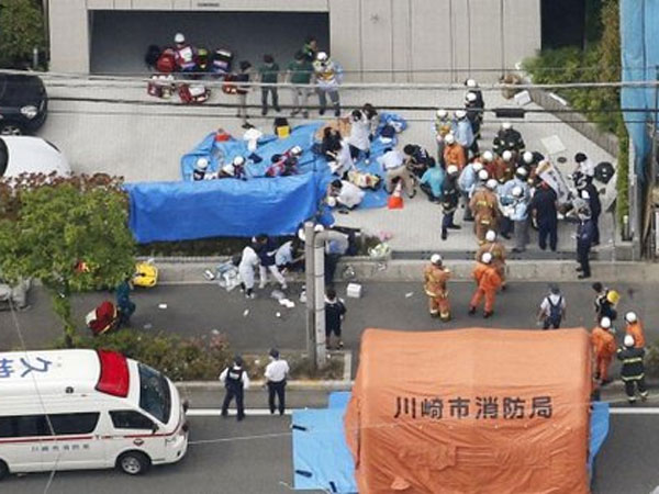 2 dead, many including school children injured in Japan mass stabbing