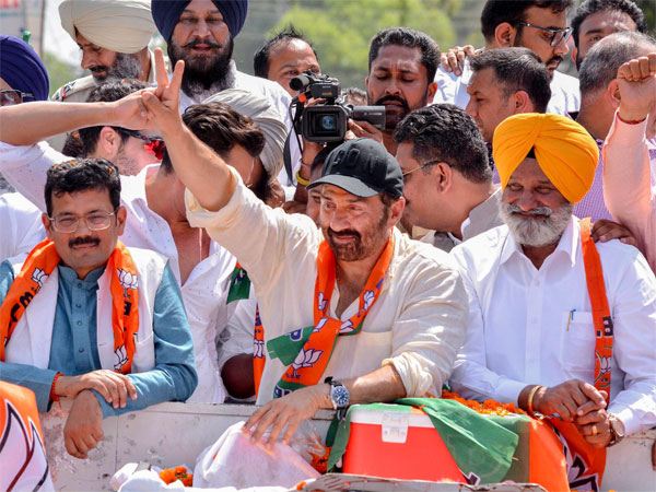 File photo of Sunny Deol campaigning