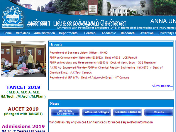 TANCET 2019 application process, important dates and eligibility criteria
