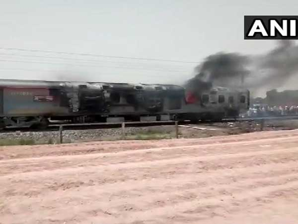 Fire breaks out in engine, generator room of Kamakhya Express in Mirzapur