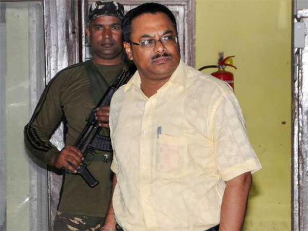 IPS Officer Arnab Ghosh, one of the member of the SIT (Special Investigation Team) comes out from CGO Complex, after interrogation by CBI officials, in connection with multi-crore Saradha chit fund scam case, in Kolkata