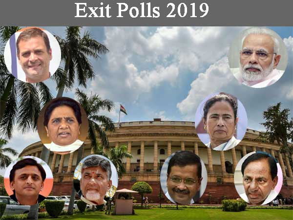 Exit polls 2019 Live: Eagerly awaited exit poll predictions to start after 6 pm