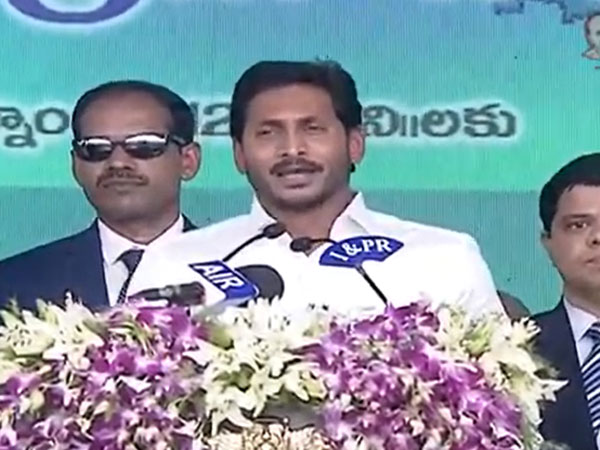 Jagan Reddy takes oath as Andhra CM