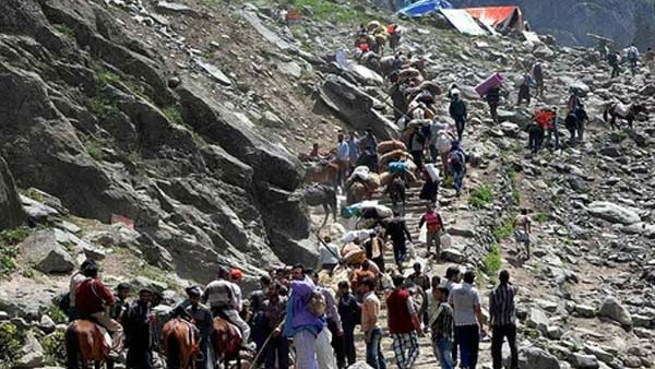 Amarnath yatra suspended till August 4 due to inclement weather conditions