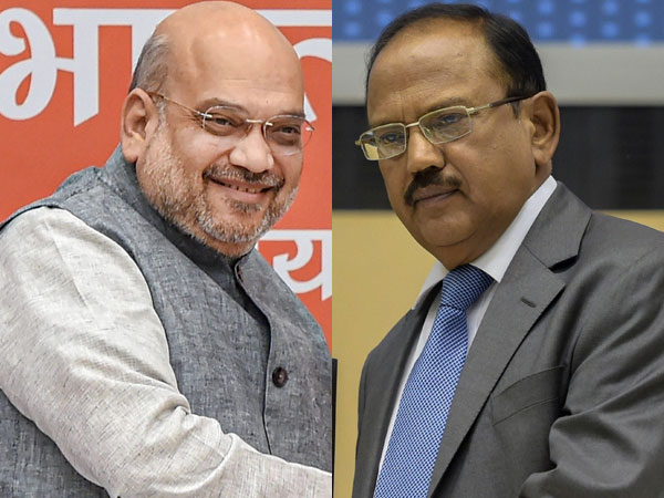 File photo of Amit Shah and Ajit Doval
