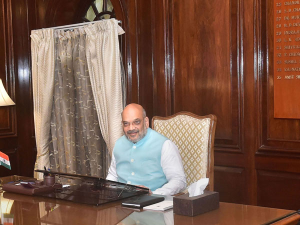 Shah takes stock of security situation, gets first-hand information