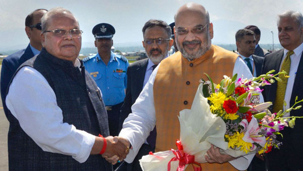 Amit Shah holds meeting to review security arrangements for Amarnath Yatra