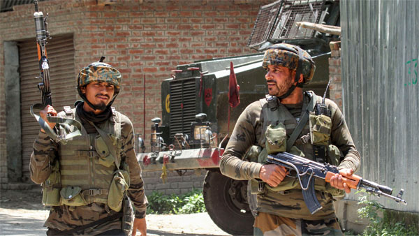 To upgrade warfare, JeM uses steel coated armour piercing bullets in Valley