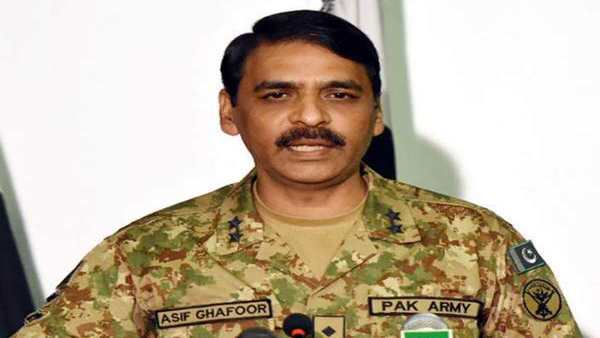 File photo of Major Gen Asif Ghafoor
