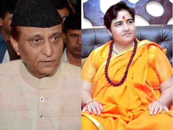 Azam Khan stokes controversy, says Madrasas don't breed nature like Godse, Pragya Thakur