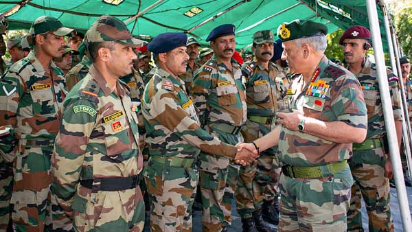 Army Chief expresses satisfaction with preparedness of troops