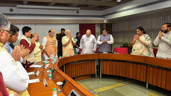 BJP parliamentary party meeting on July 2