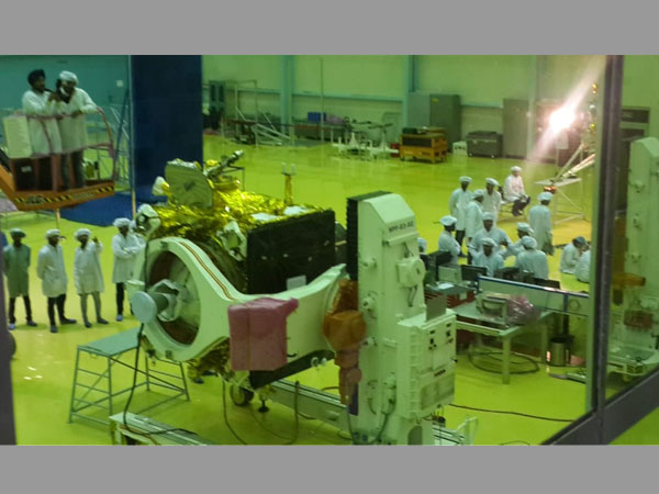 Chandrayaan-2: ISRO unveils first picture of spacecraft for second moon mission
