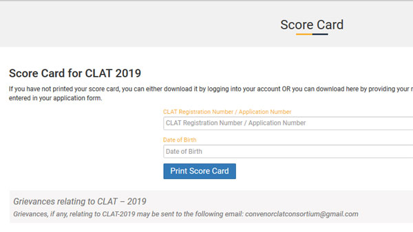 CLAT Result 2019: Direct link to check here