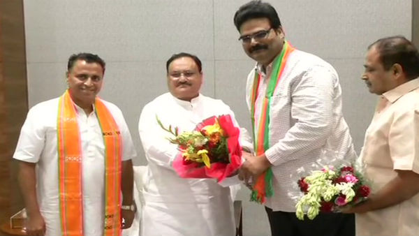 TDP spokesperson Lanka Dinakar quits Party, joins BJP in presence of JP Nadda