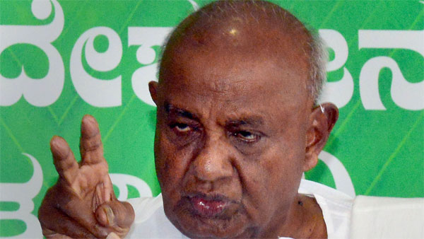 Not ours, it was Sonia's idea says Gowda on Karnataka coalition