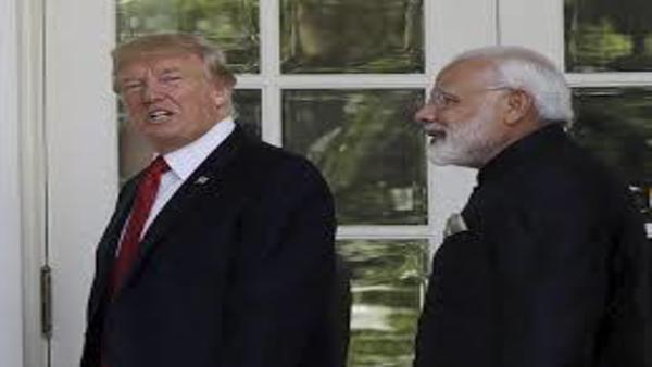 File photo of Narendra Modi and Donald Trump