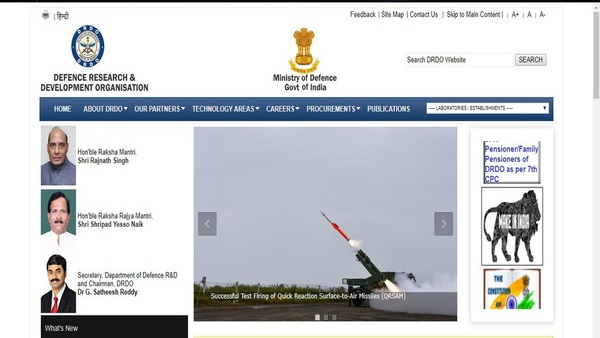 DRDO jobs for engineers