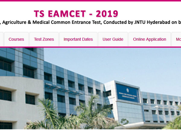 TS EAMCET 2019 result declared, website to check