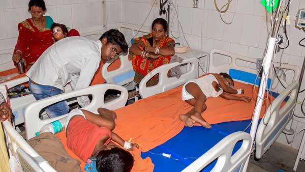 [Bihar: 84 children die within 2 weeks due to acute Encephalitis in Muzaffarpur]