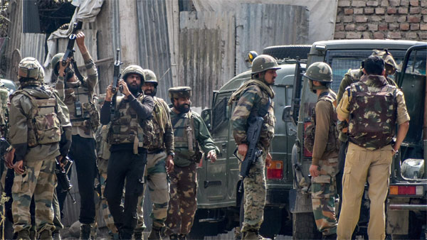J&K: Terrorist gunned down in Baramulla