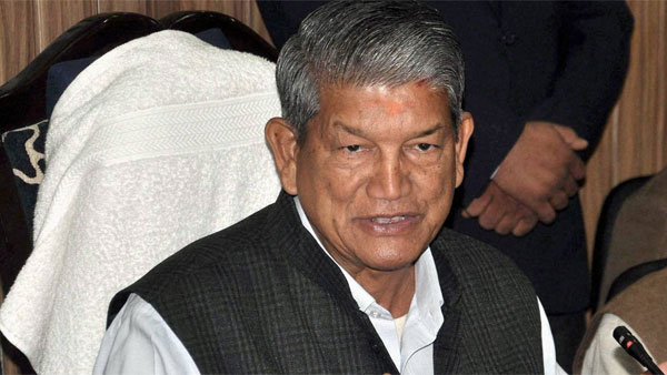 File photo of Harish Rawat