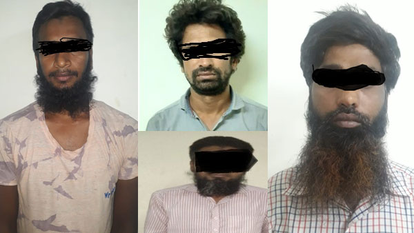 STF Kolkata arrests 4 Neo-JMB/IS operatives