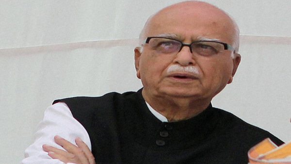 Veteran BJP leader Lal Krishna Advani