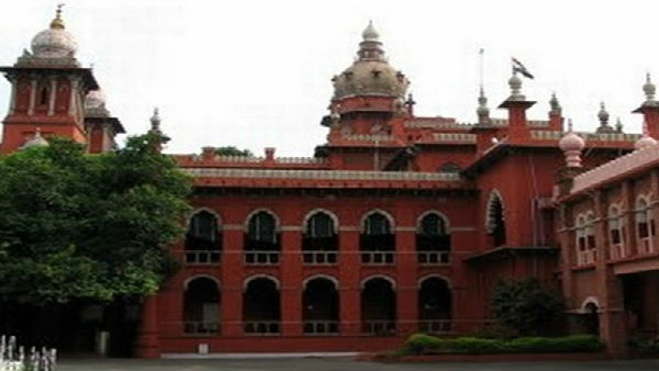 File photo of Madras High Court
