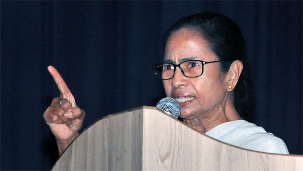 Mamata again warns TMC leaders against taking cut money
