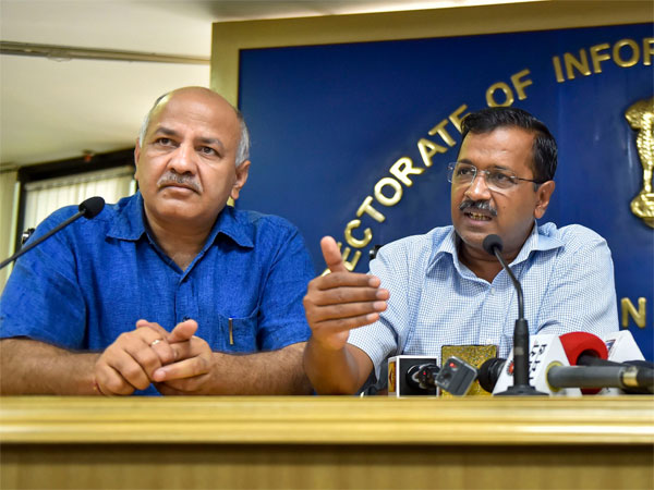 File photo of Delhi Chief Minister Arvind Kejriwal and deputy Chief minister Manish Sisodia