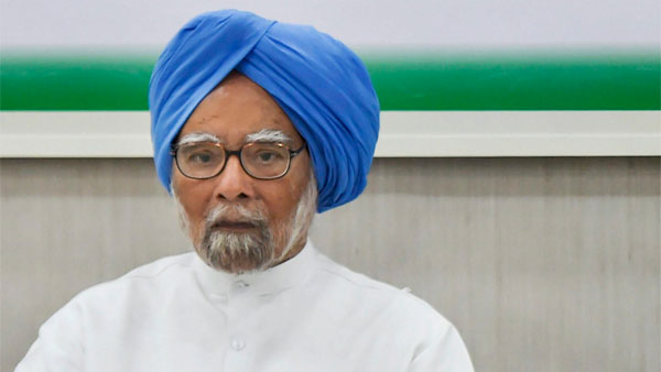 File photo of Manmohan Singh