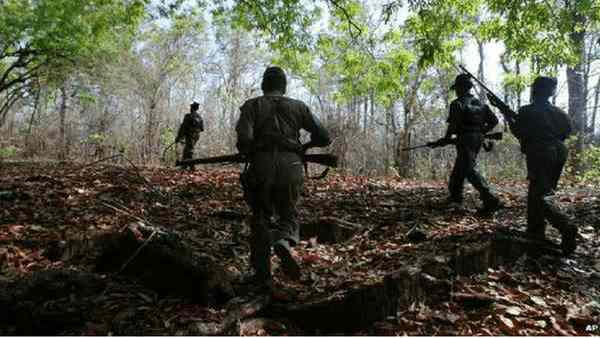 7 naxals killed in Chhattisgarh encounter, huge cache of weapons seized