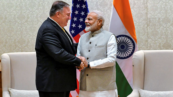 Mike Pompeo meets PM Modi, meeting with Doval, Jaishankar next on agenda