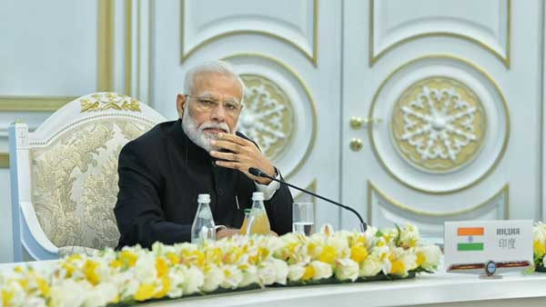 [SCO summit: Nations must combat terror together, says PM Modi]