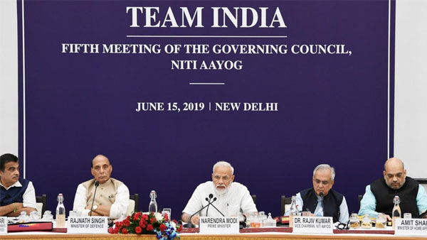 Making India $5 trillion economy by 2020 challenging but achievable: PM Modi at NITI Aayog meet