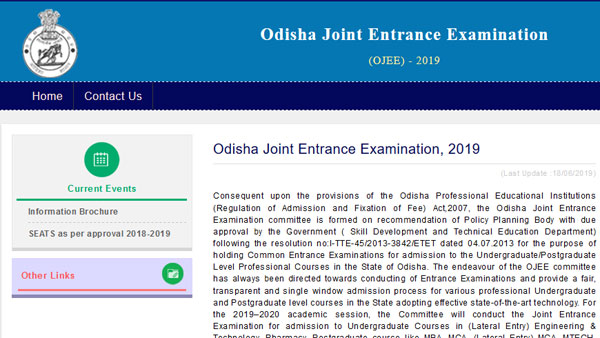 OJEE 2019 results declared, how to check