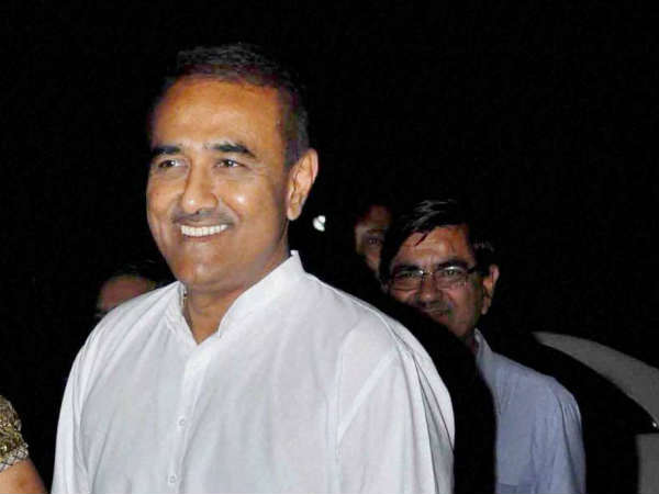 Praful Patel appears before ED in money laundering case