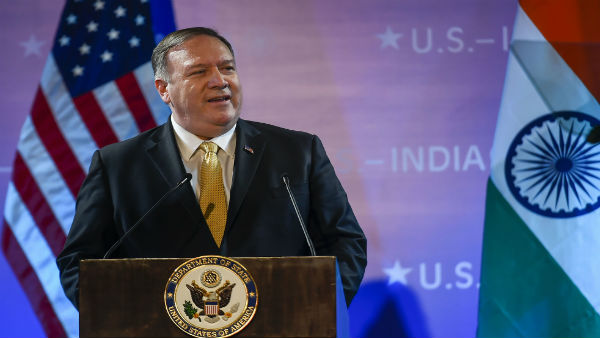 Lets speak out strongly in favour of religious freedom, says Mike Pompeo in Delhi