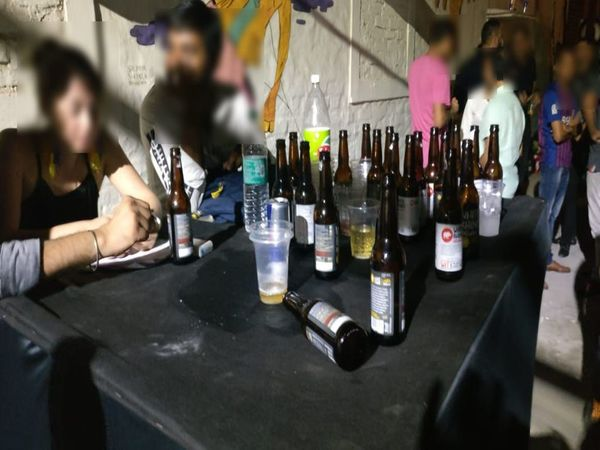 Narcotics, liquor seized from a rave party at a Chhattarpur farmhouse; 16 detained