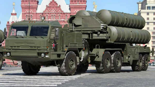 A file photo of S-400 missile system