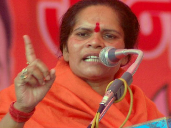 File photo of Sadhvi Prachi
