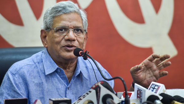 Kashmir: Sitaram Yechury to visit Srinagar today; Mobile services restored in 5 districts
