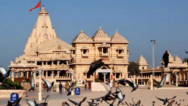 Somnath temple remains open despite Cyclone Vayu, minister says cant shut for Kudrati aafat'