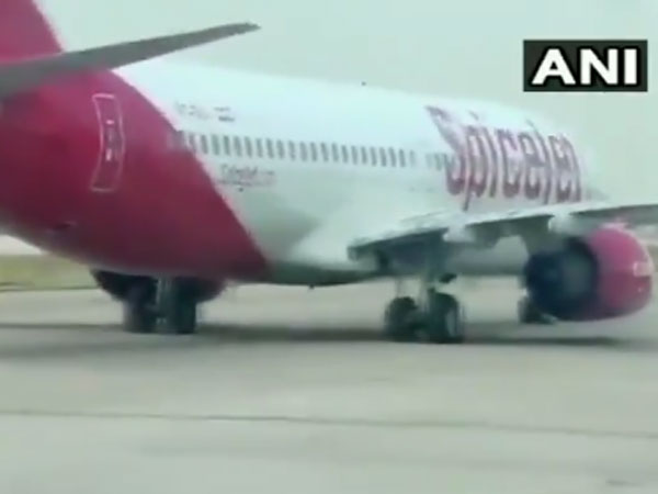 Close shave! SpiceJet Dubai-Jaipur flight makes emergency landing after tyre burst